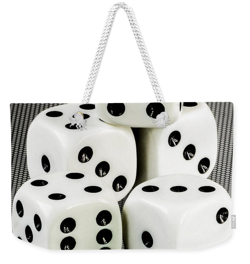Texas Weekender Tote Bag featuring the photograph Roll Em If Ya Got Em by Erich Grant