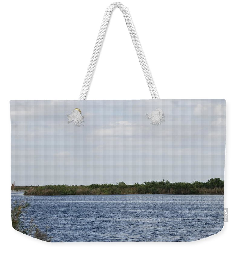 Water Weekender Tote Bag featuring the photograph Fla Everglades by Rob Hans