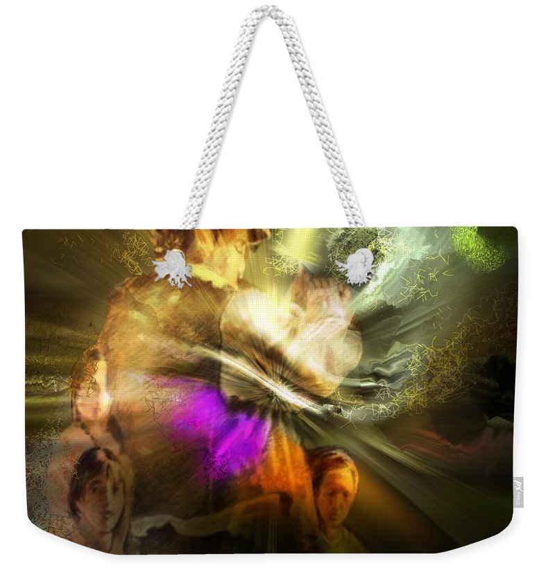 Spain Weekender Tote Bag featuring the painting Flamenco by Miki De Goodaboom