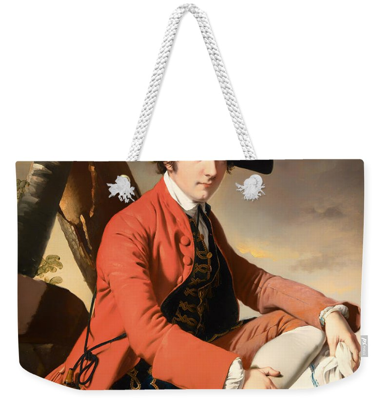 Painting Weekender Tote Bag featuring the painting Fleetwood Hesketh by Mountain Dreams