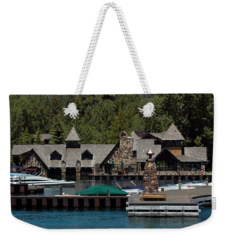 Usa Weekender Tote Bag featuring the photograph Fleur De Lac Mansion The Godfather II by LeeAnn McLaneGoetz McLaneGoetzStudioLLCcom