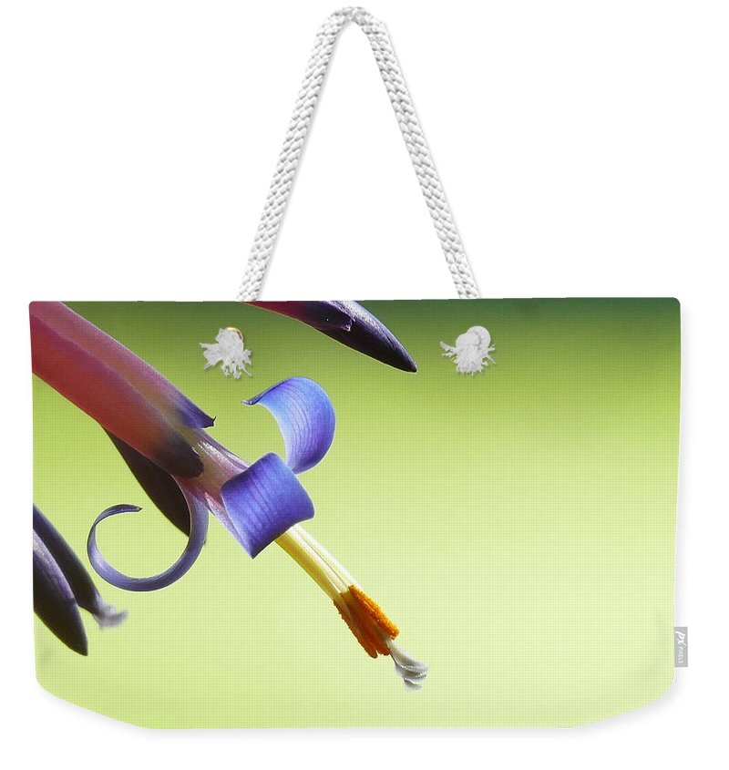 Plant Weekender Tote Bag featuring the photograph Fleur-de-lis by Evelyn Tambour