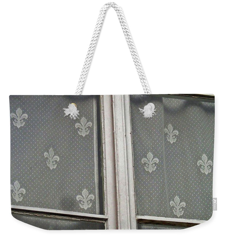North America Weekender Tote Bag featuring the photograph Fleur-de-lis by Juergen Weiss