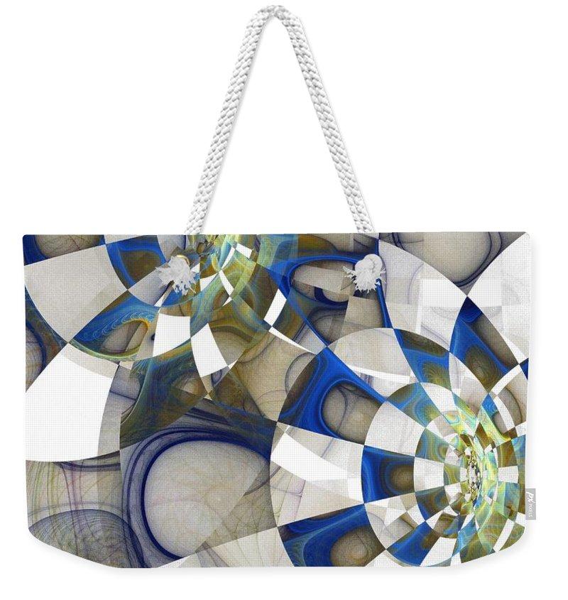 Digital Art Weekender Tote Bag featuring the digital art Flight by Amanda Moore