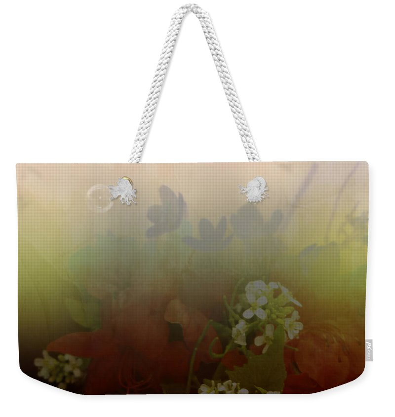 Bubble Weekender Tote Bag featuring the photograph Floating Bubble by Scott Wyatt