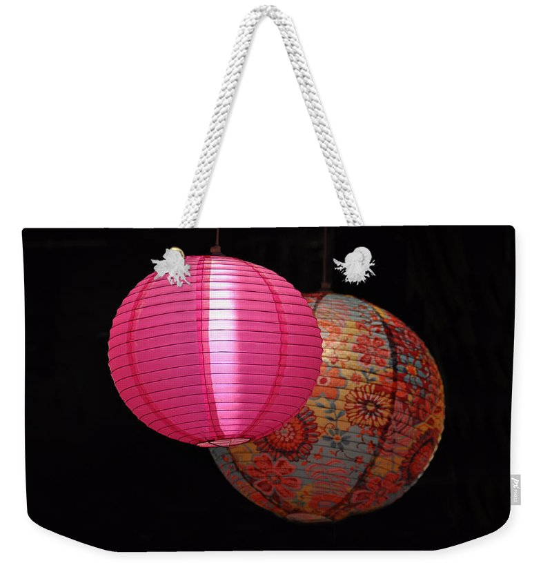Still Life Weekender Tote Bag featuring the photograph Floating by Jan Amiss Photography