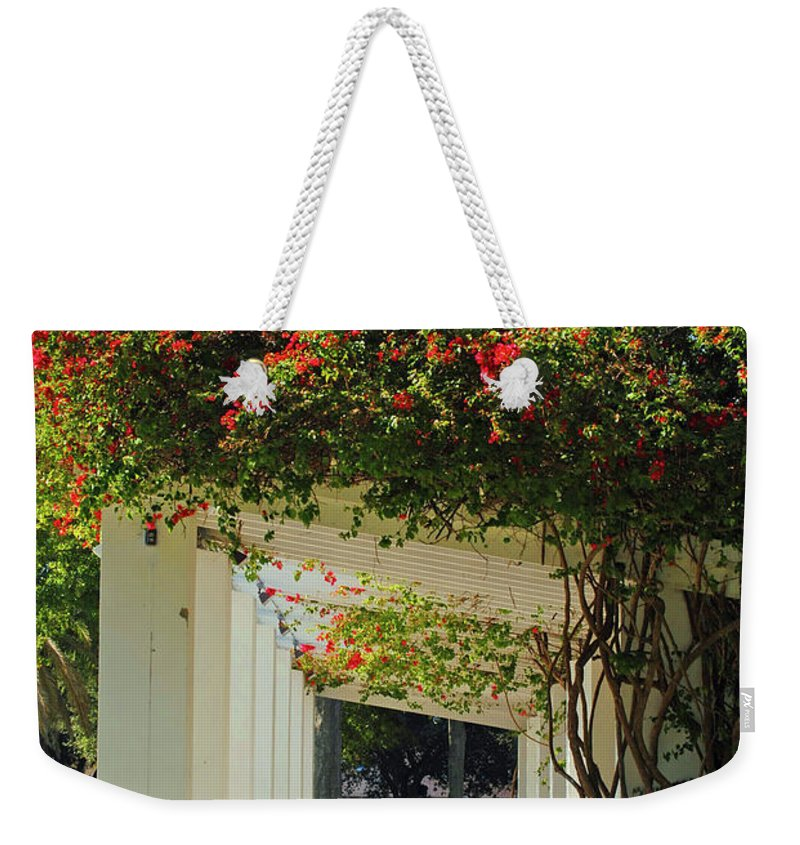 St Petersburg Weekender Tote Bag featuring the photograph Floral Or Art by Jost Houk