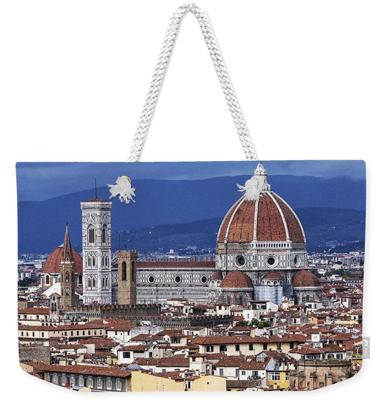 Basilica Di Santa Maria Del Fiore Weekender Tote Bags