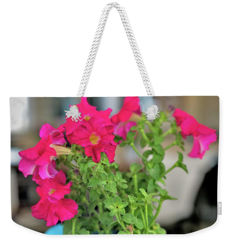 Flower Decoration By Ekaterina Molchanova Weekender Tote Bag featuring the photograph Flower Decoration by Ekaterina Molchanova