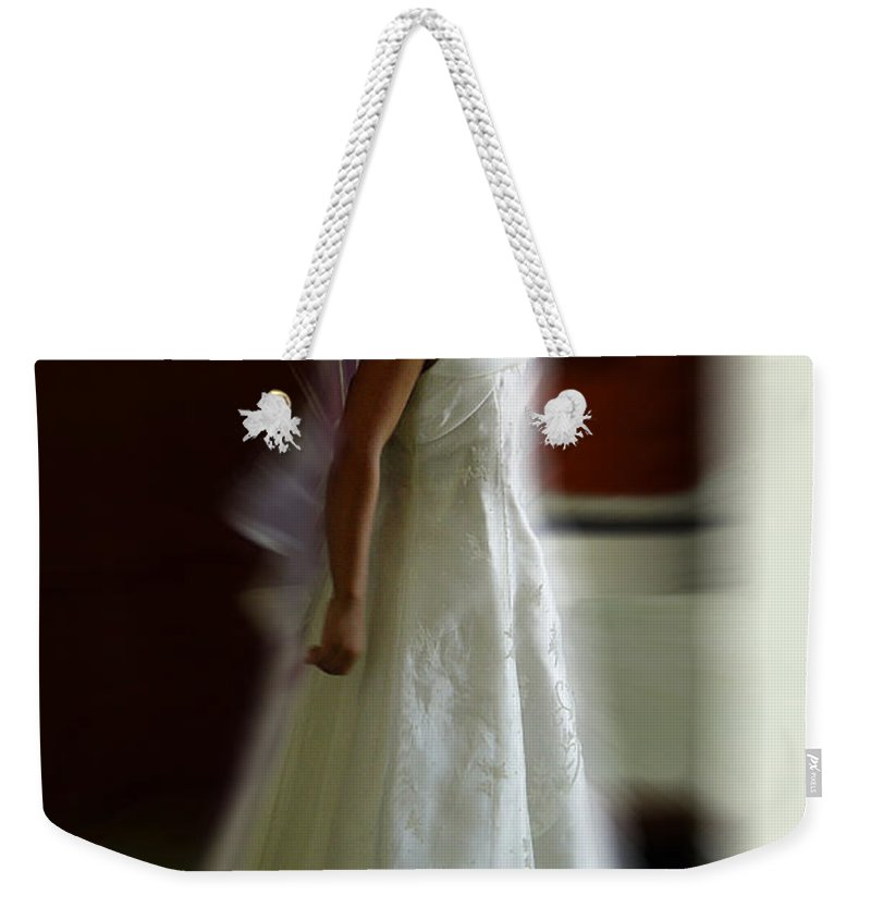 Flower Girl Weekender Tote Bag featuring the photograph Flower Girl by Peter Piatt