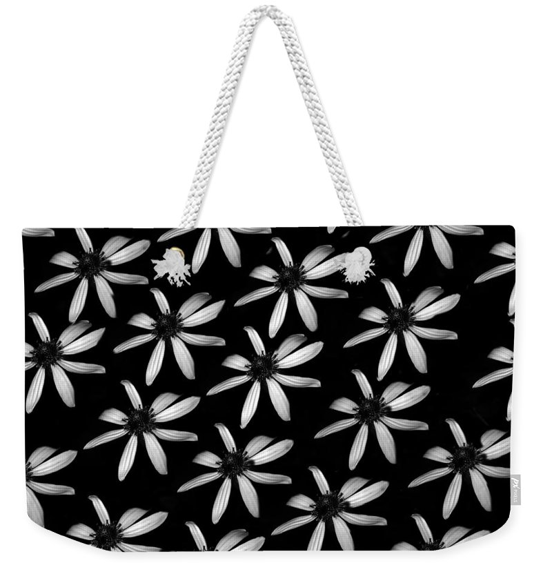 Digital Art Weekender Tote Bag featuring the photograph Flower Paper by Eric Liller