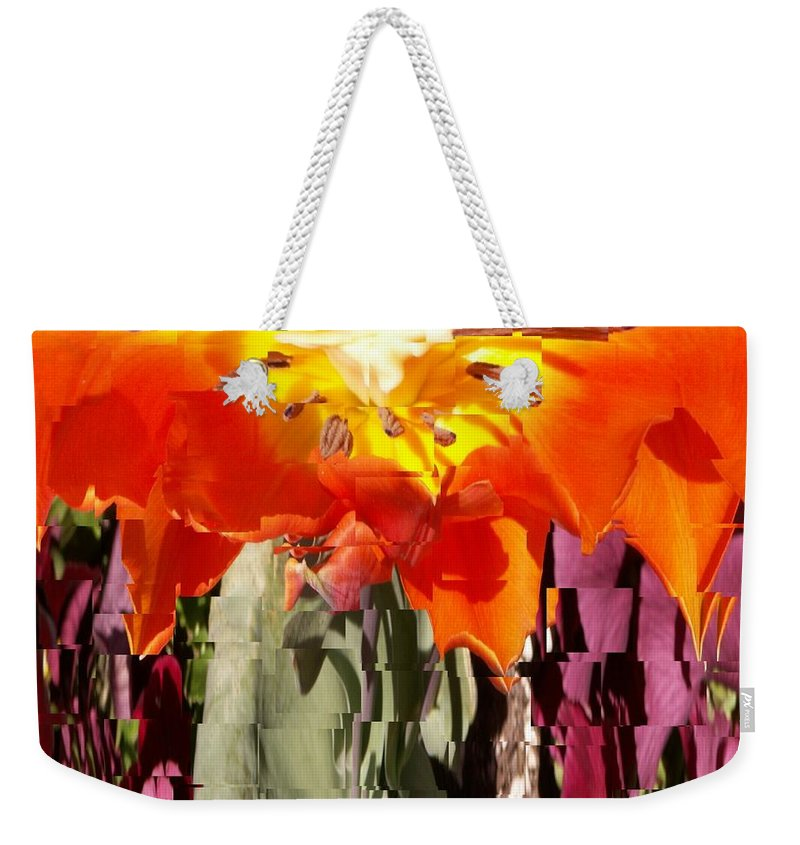 Flower Weekender Tote Bag featuring the photograph Flower by Tim Allen