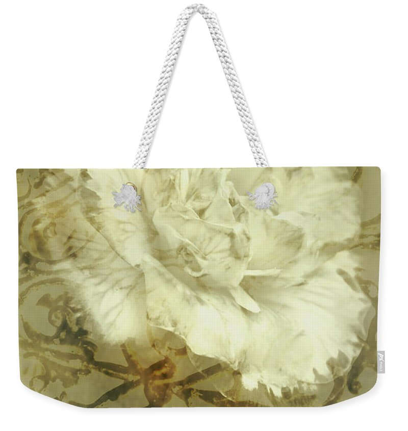 Flower Weekender Tote Bag featuring the photograph Flowers By The Window by Jorgo Photography - Wall Art Gallery