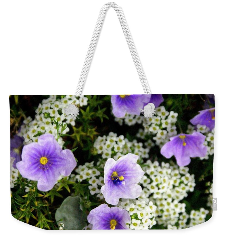 Flowers Weekender Tote Bag featuring the photograph Flowers Etc by Marty Koch