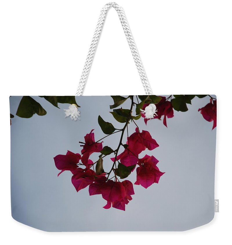 Flowers Weekender Tote Bag featuring the photograph Flowers In The Sky by Rob Hans