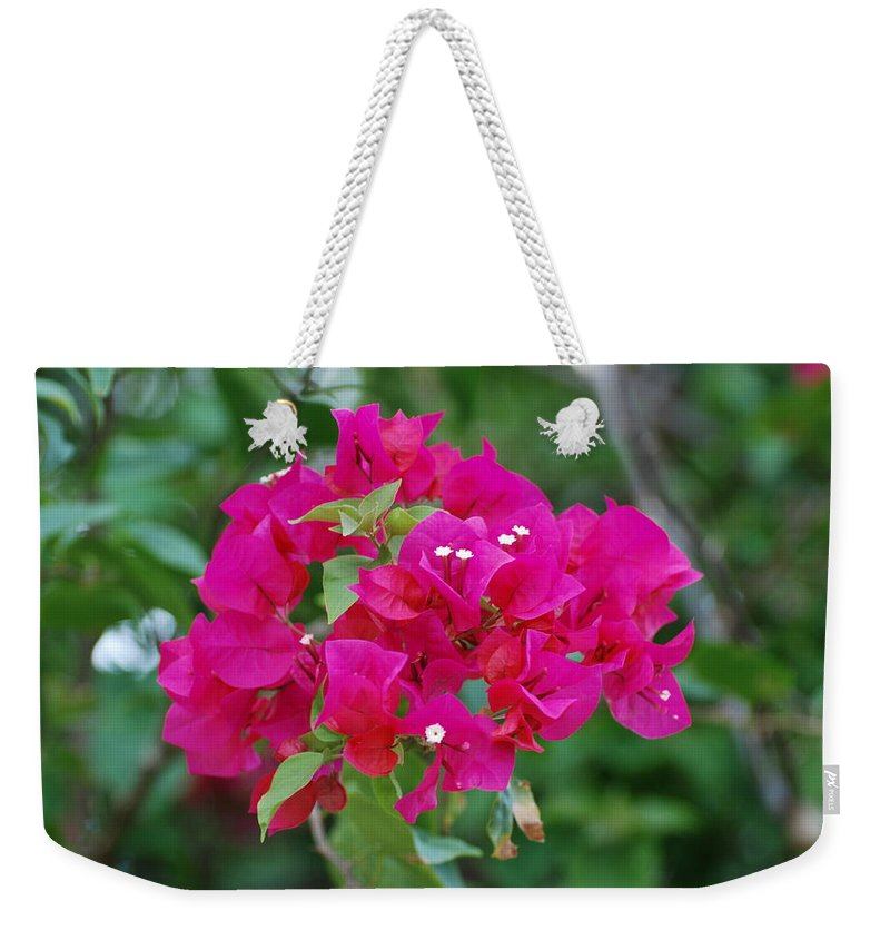 Flowers Weekender Tote Bag featuring the photograph Flowers by Rob Hans