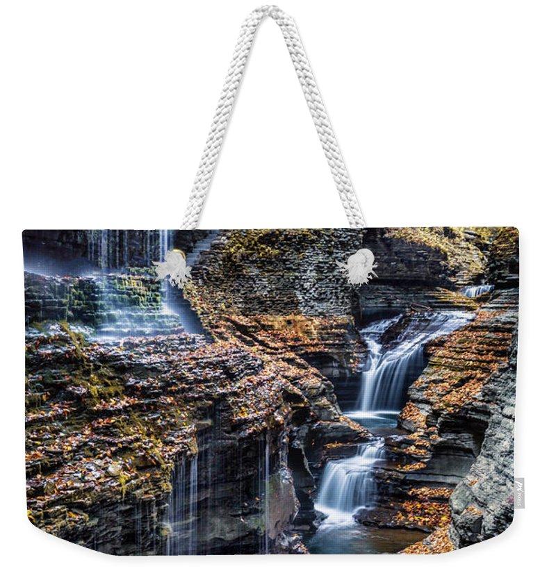 Upstate Ny Weekender Tote Bags