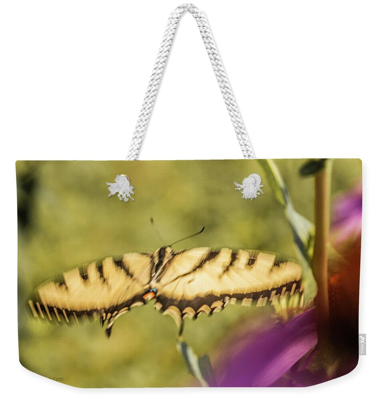 Weekender Tote Bag featuring the photograph Flowing.... by Paul Vitko