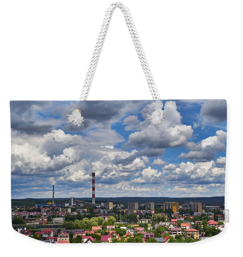 Fluff Weekender Tote Bag featuring the photograph Fluff by Tgchan