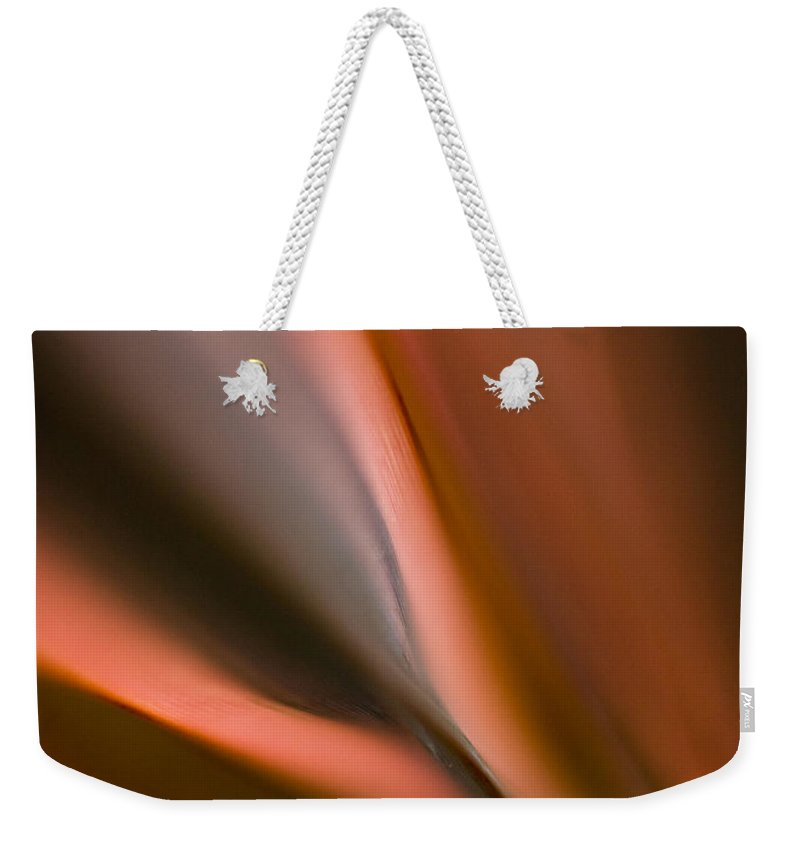 Fluid Weekender Tote Bag featuring the photograph Fluid Blades by Mike Reid