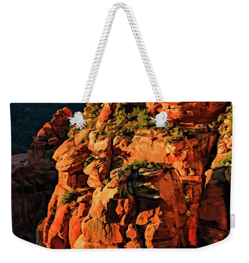 Arizona Weekender Tote Bag featuring the photograph Flying Buttress 06-034 by Scott McAllister