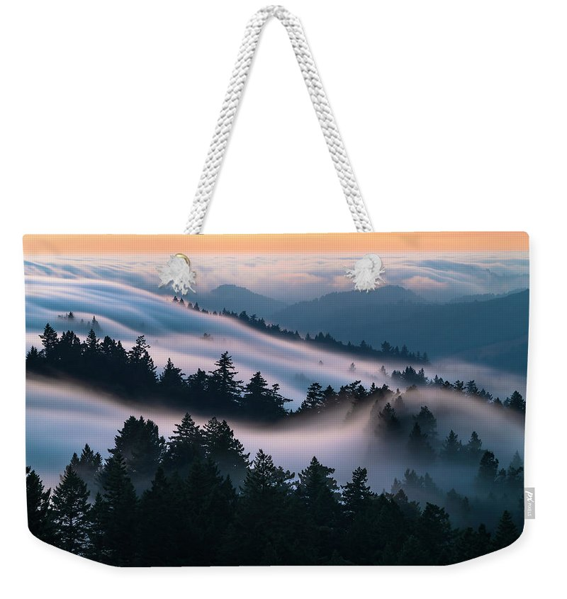 Fog Wave Weekender Tote Bag featuring the photograph Fog Dreams by Alexander Davidovich