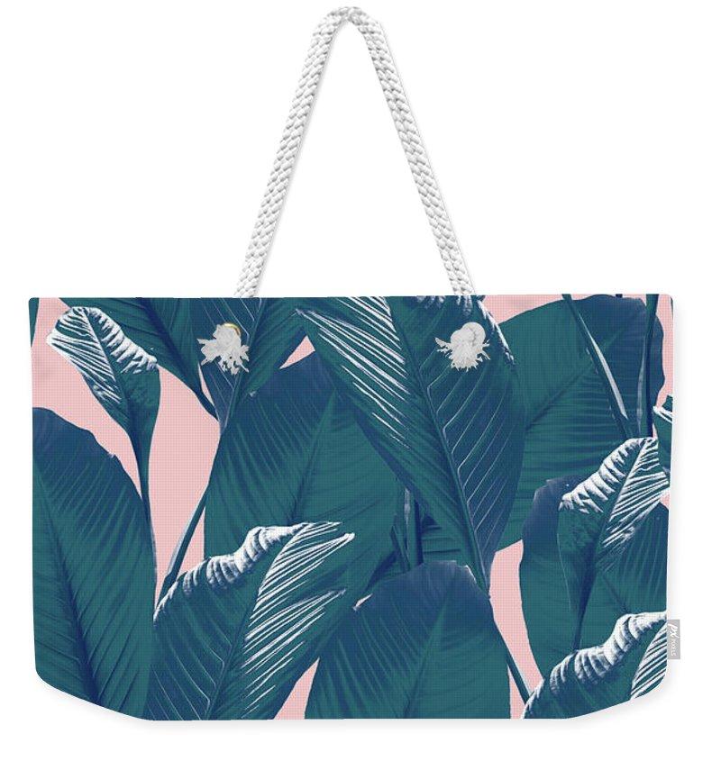 Foliage Weekender Tote Bags