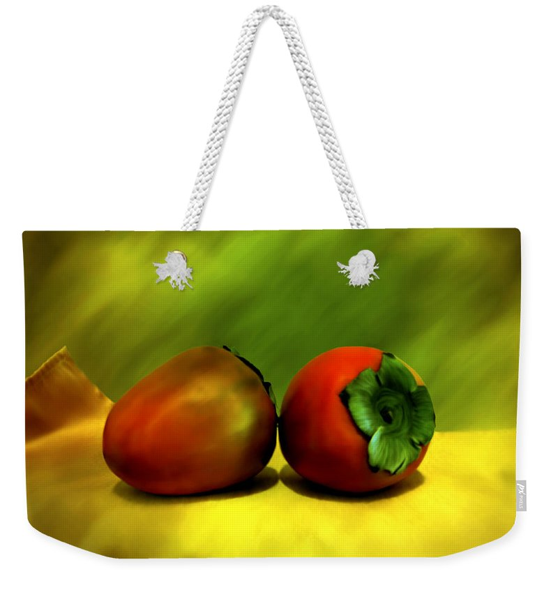 Still Life Weekender Tote Bag featuring the photograph Food For The Gods by Kurt Van Wagner