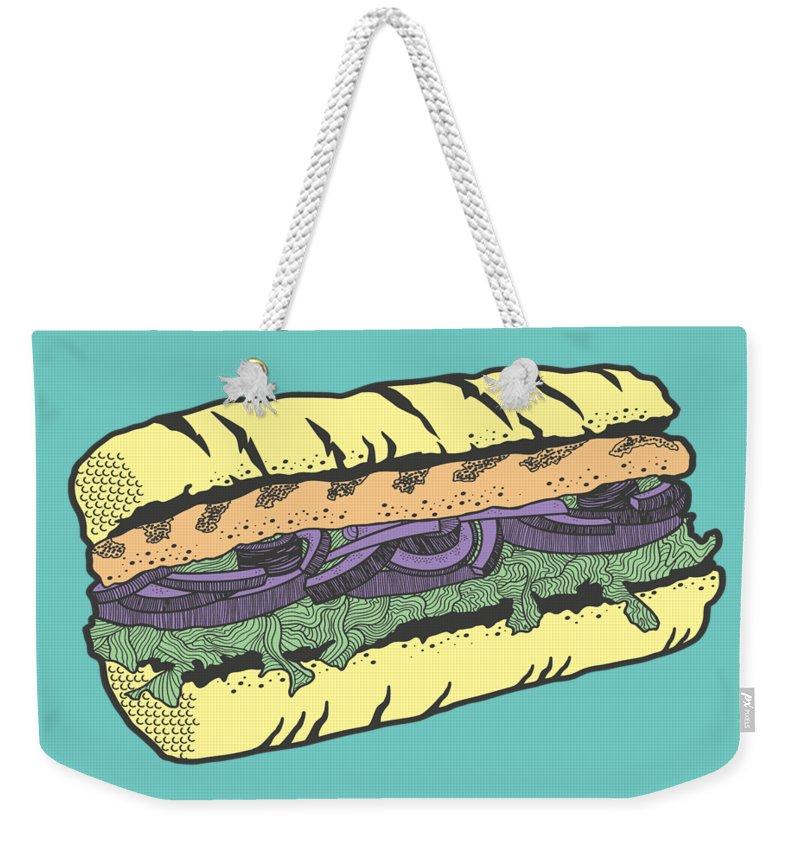 Vegetables Weekender Tote Bags