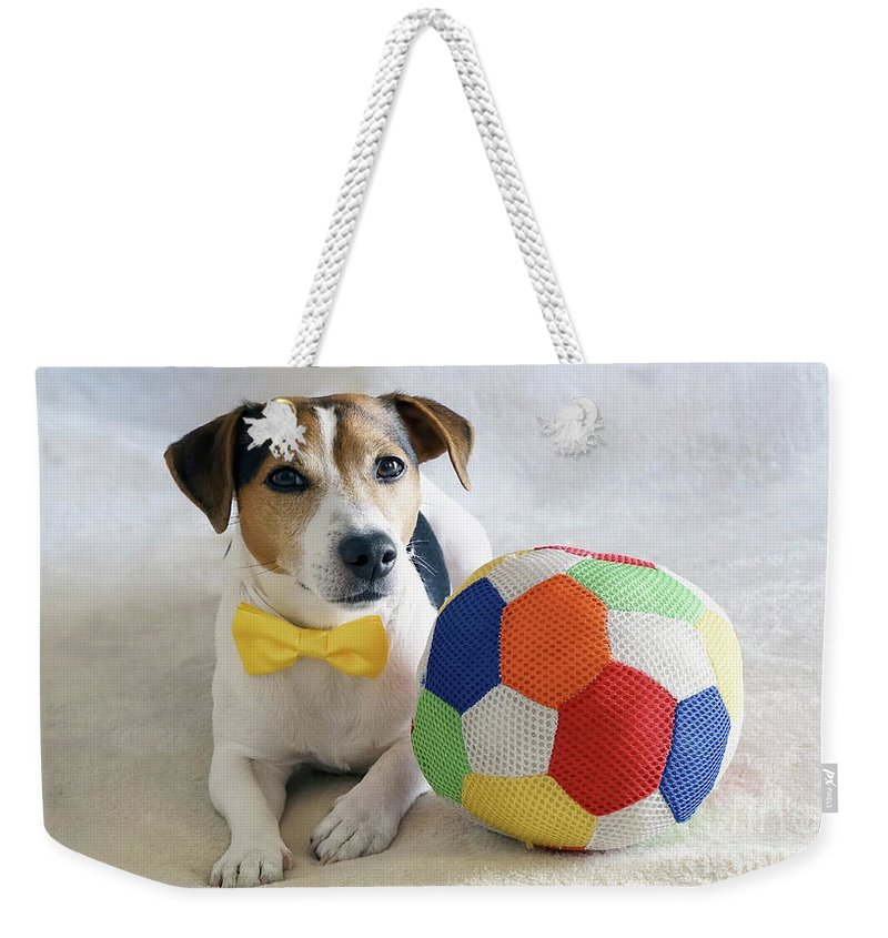 Kira Yan Weekender Tote Bag featuring the photograph Football Fans by Kira Yan