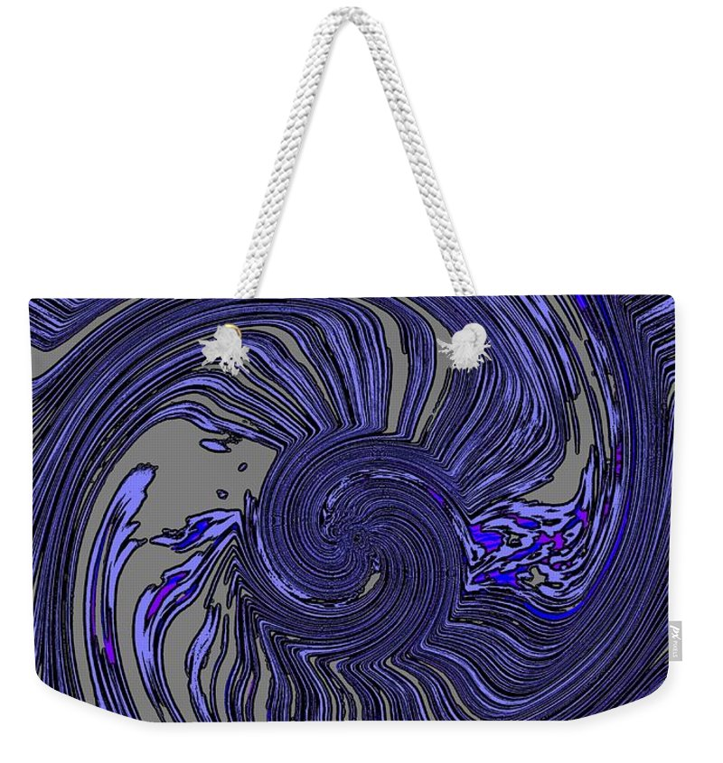 Force Weekender Tote Bag featuring the digital art Force Of Nature by Tim Allen