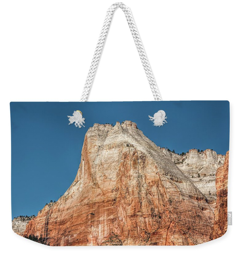 Landscape Weekender Tote Bag featuring the photograph Forces Of Nature by John M Bailey