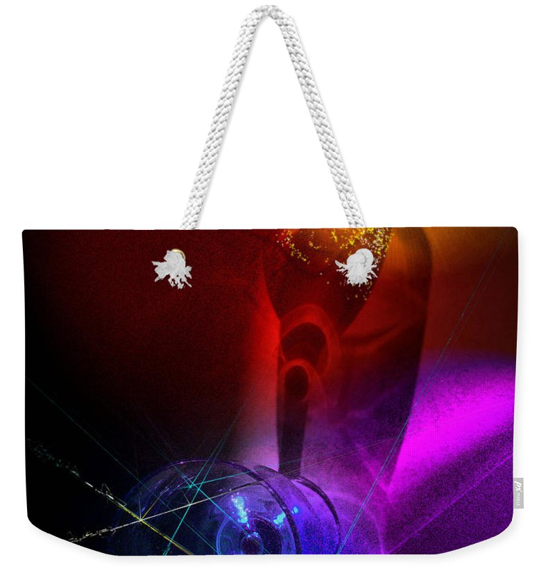 Fantasy Weekender Tote Bag featuring the photograph Foreplay by Miki De Goodaboom