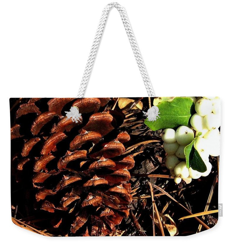 Forest Floor Weekender Tote Bag featuring the photograph Forest Floor by Will Borden