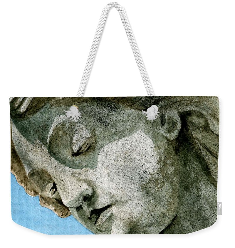Woman Weekender Tote Bag featuring the painting Forever Yours by Brenda Owen