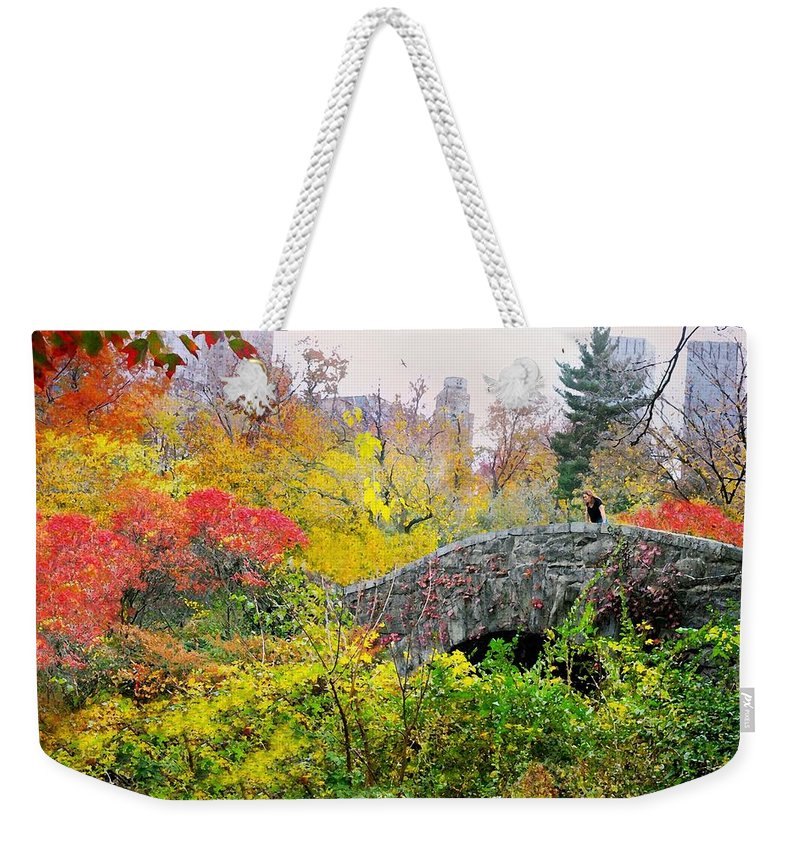 Landscape Weekender Tote Bag featuring the photograph Forever's As Far As I Go by Diana Angstadt