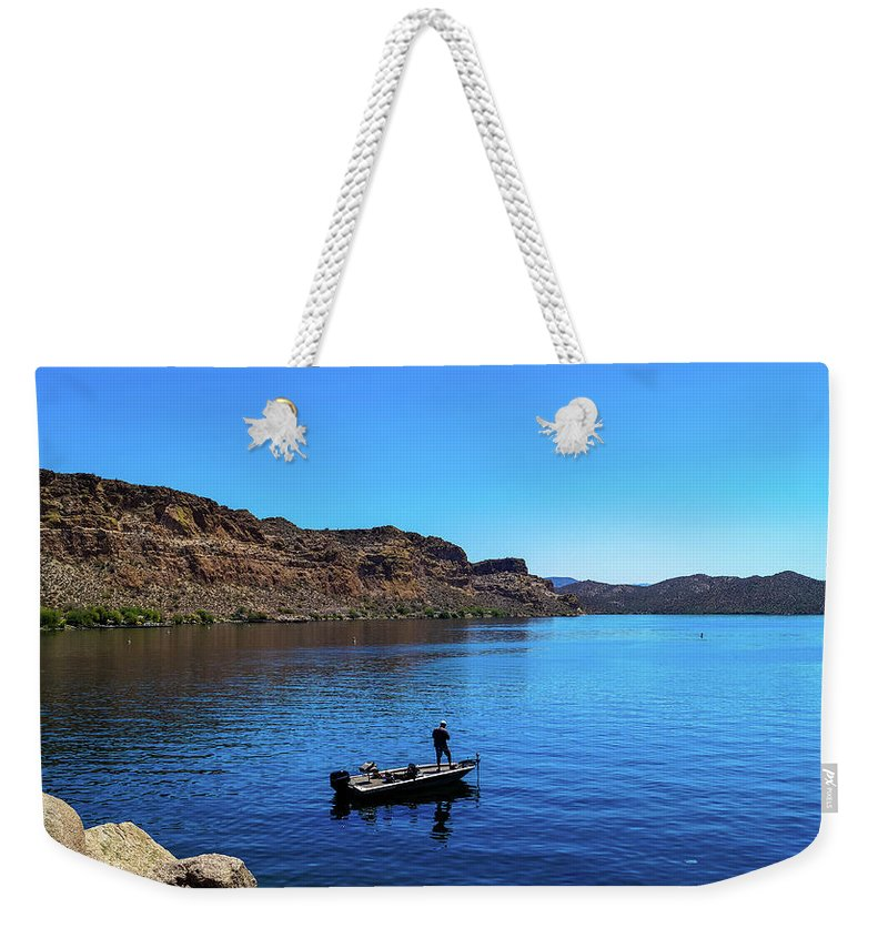 Landscape Weekender Tote Bag featuring the photograph Forget About Time by Timm Armitage