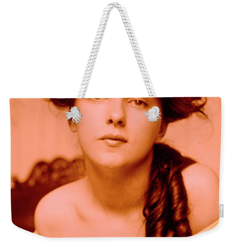 Girl Weekender Tote Bag featuring the photograph Forgotten Beauty by Steve K