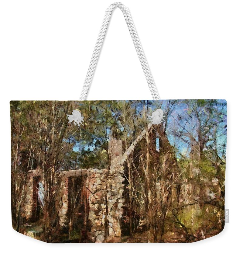 Abandon Weekender Tote Bag featuring the painting Forgotten by Jeffrey Kolker