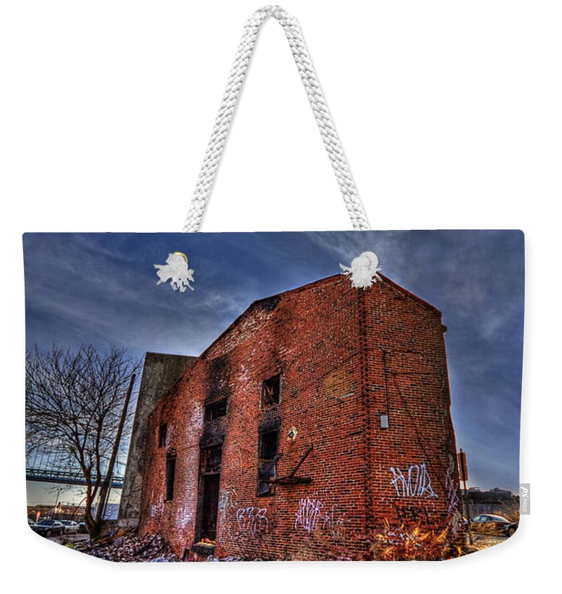Abandoned Weekender Tote Bag featuring the photograph Forsaken Luxury by Evelina Kremsdorf