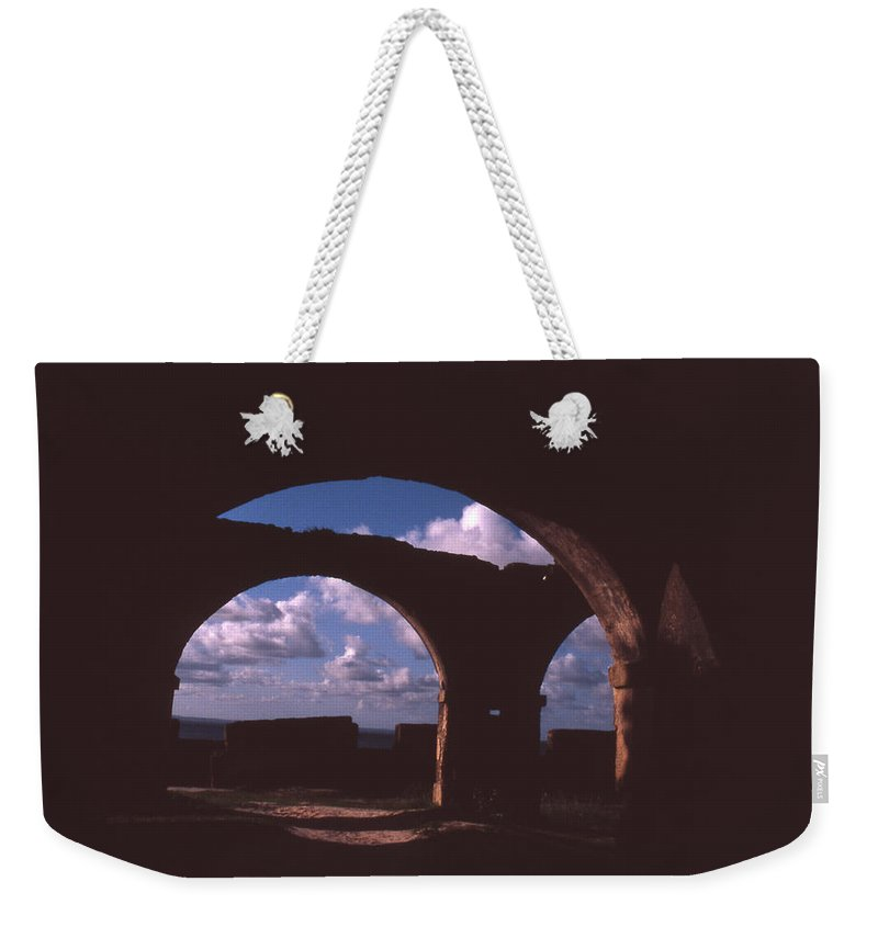 Bahia Weekender Tote Bag featuring the photograph Fortaleza De Morro De Sao Paulo by Patrick Klauss