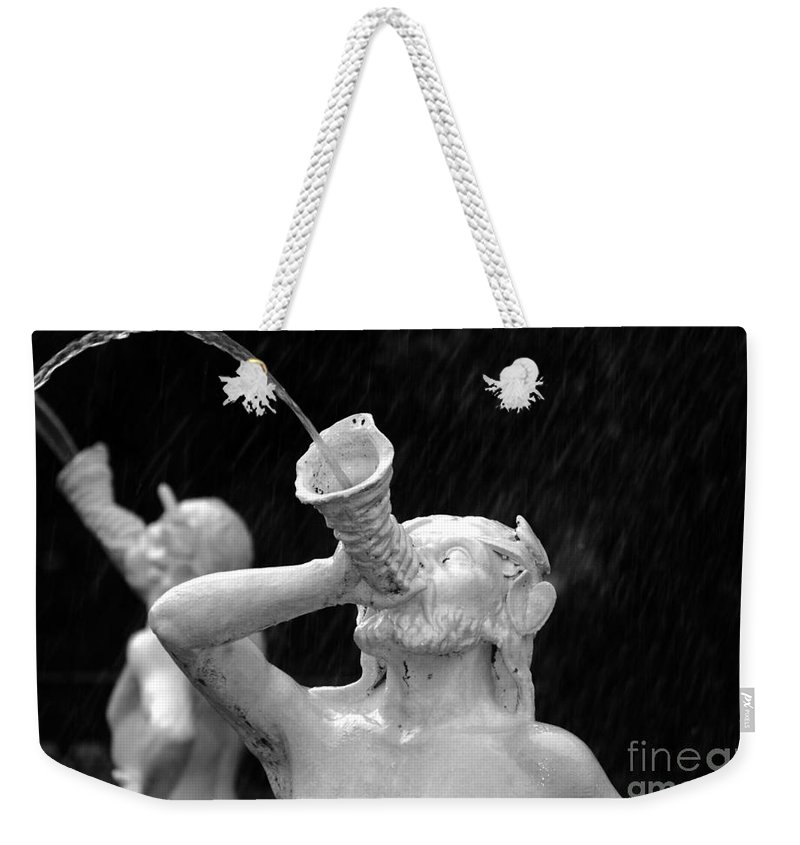 Fountain Weekender Tote Bag featuring the photograph Fountain Dreams by David Lee Thompson