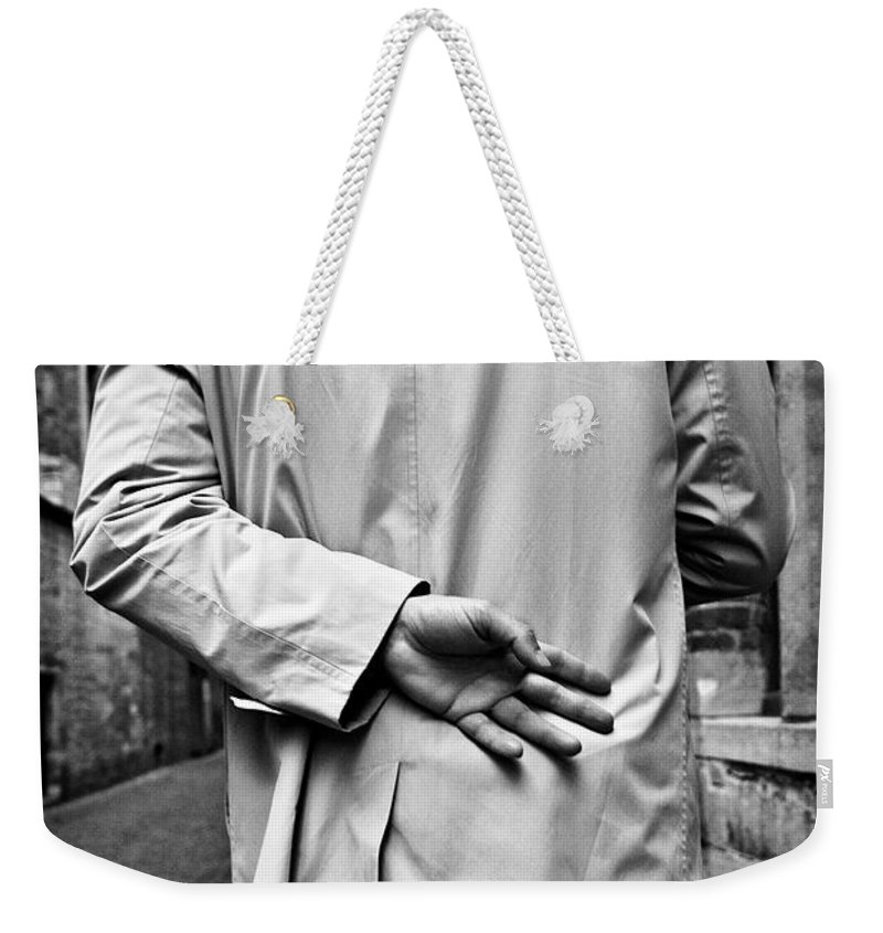 Man Weekender Tote Bag featuring the photograph Four by Dave Bowman