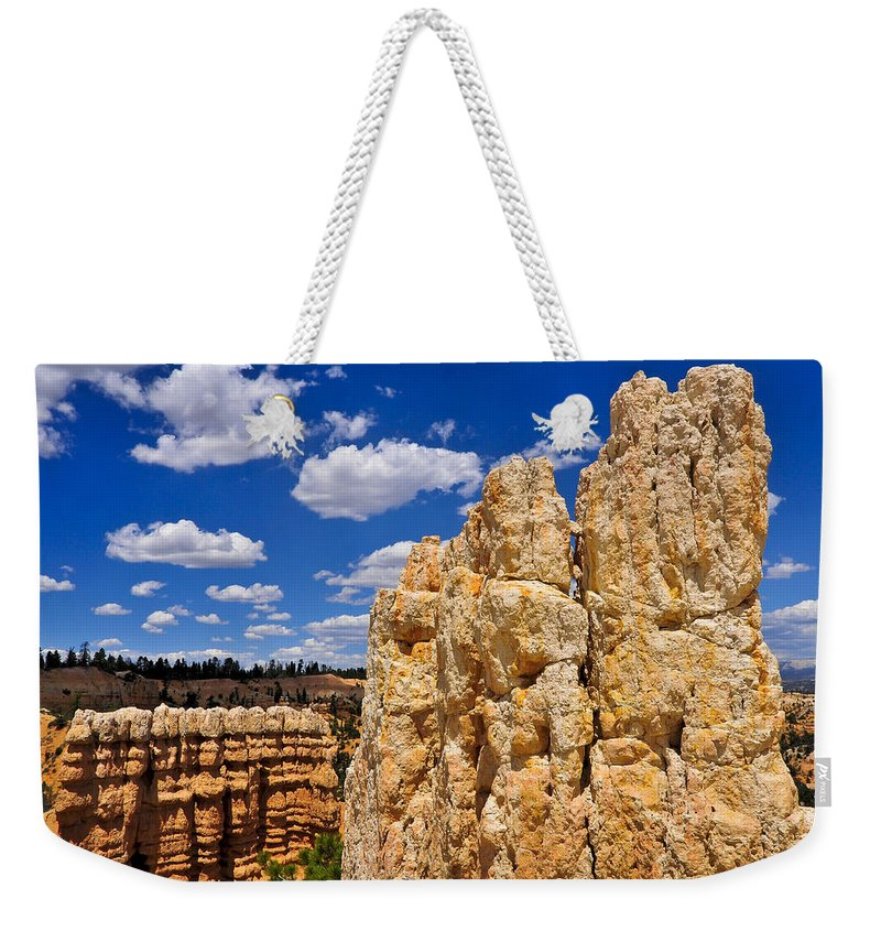 Four Finger Discount Weekender Tote Bag featuring the photograph Four Finger Discount by Skip Hunt