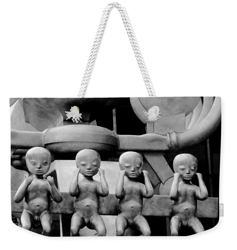 Four Weekender Tote Bag featuring the photograph Four For Vienna by Ian MacDonald