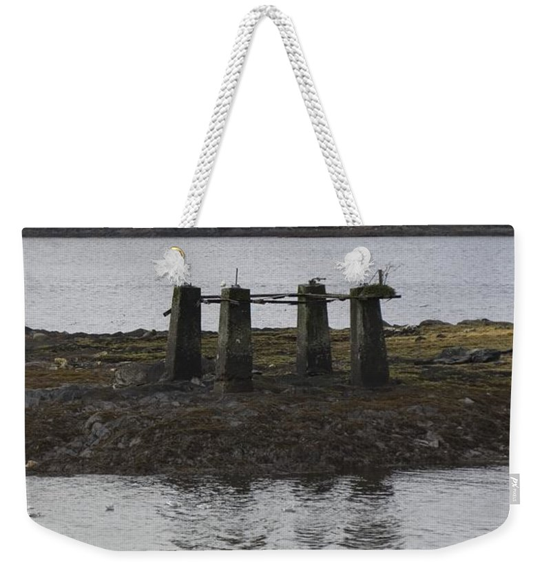 Post Weekender Tote Bag featuring the photograph Four by Sara Stevenson