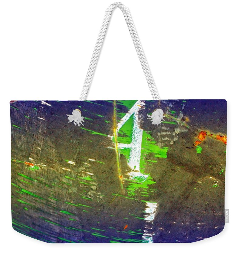 Urban Weekender Tote Bag featuring the photograph Four by Tara Turner