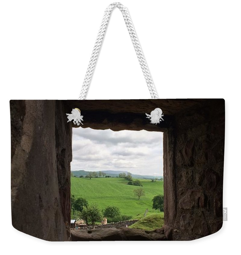 Nature Weekender Tote Bag featuring the photograph Framed Nature by Natalia Wallwork