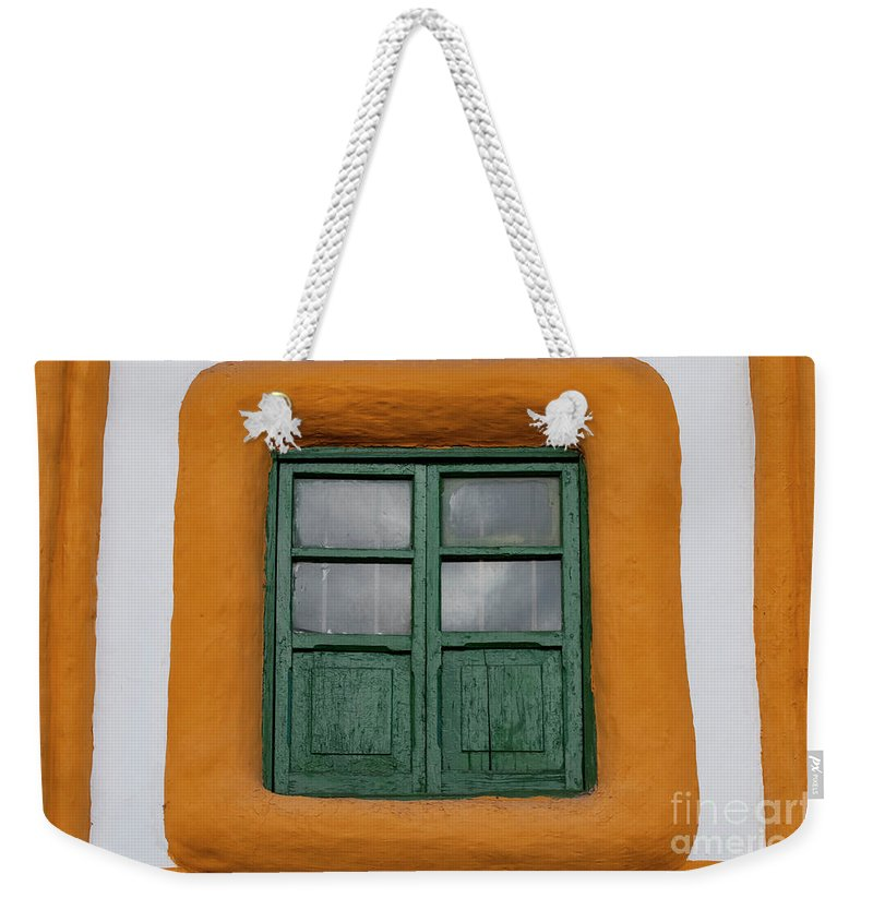 Cusco Weekender Tote Bag featuring the photograph Framed Window by Bob Phillips