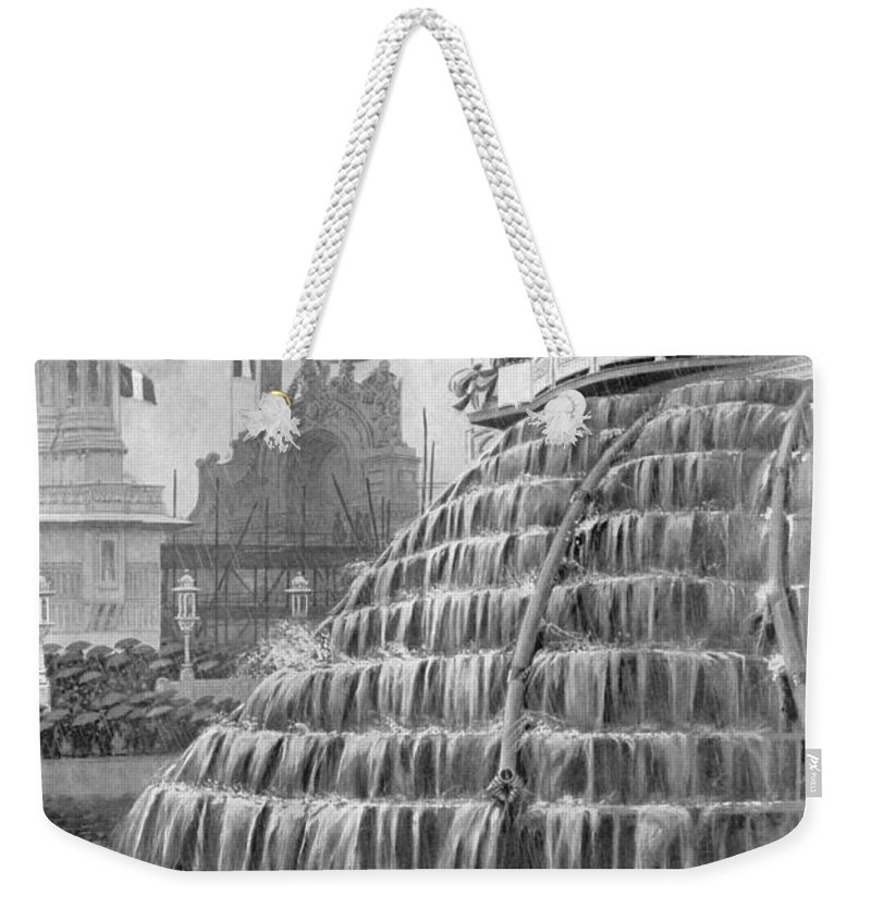 1908 Weekender Tote Bag featuring the photograph Franco-british Exhibition by Granger